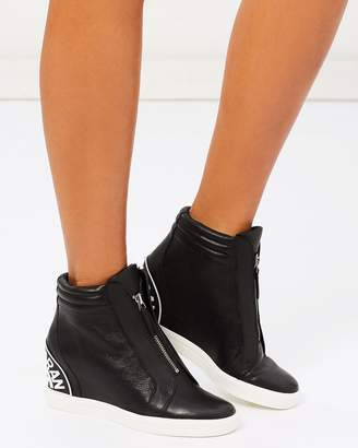 DKNY Connie Wedge Sneakers