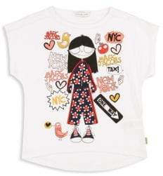 Little Marc Jacobs Little Girl's & Girl's Miss Marc T-Shirt