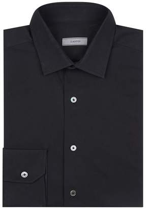 Lanvin Grosgrain Placket Shirt