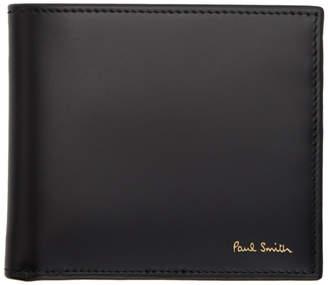 Paul Smith Black Multistripe Wallet