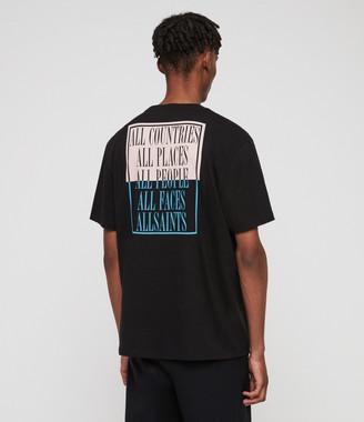 4aeb0cb2f AllSaints Black T Shirts For Men - ShopStyle UK
