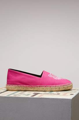 Kenzo Pink Tiger Espadrilles Cotton