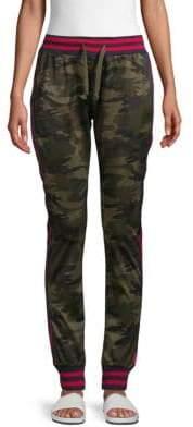 Striped Camo Track Pants