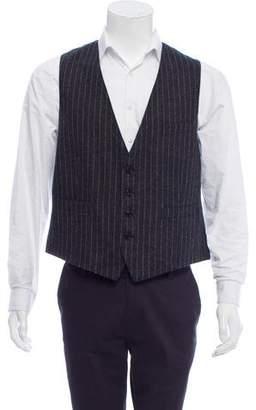 Dries Van Noten Pinstriped Waistcoat