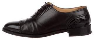 Gravati Leather Cap-Toe Oxfords