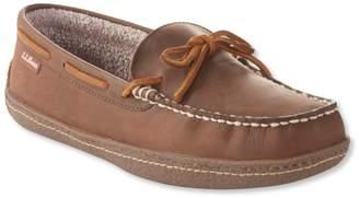 L.L. Bean L.L.Bean Handsewn Slippers II, Fleece-Lined