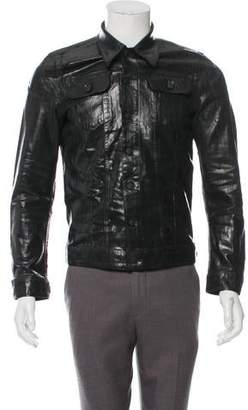 DSQUARED2 Coated Denim Jacket w/ Tags