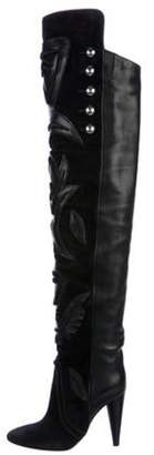 Isabel Marant Farrah's Embroidered Boots Black Farrah's Embroidered Boots