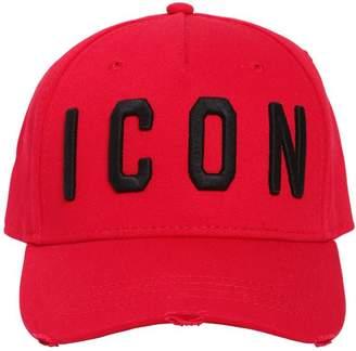 DSQUARED2 Icon Cotton Gabardine Baseball Hat