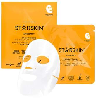 Starskin AFTER PARTY Brightening Bio-Cellulose Second Skin Face Mask