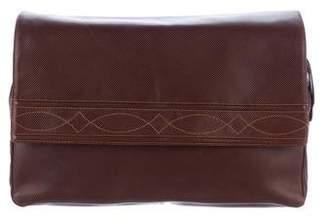 Bottega Veneta Vintage Embossed Leather Clutch