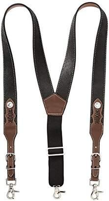 Nocona Belt Co. Men's Top Hand Leather Suspender