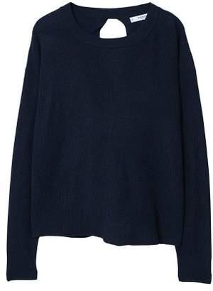 MANGO Back vent sweater
