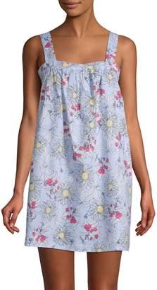 Jane & Bleecker Floral-Print Cotton Blend Sleepshirt