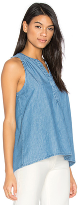 Soft Joie Carley E Tank in Blue $118 thestylecure.com