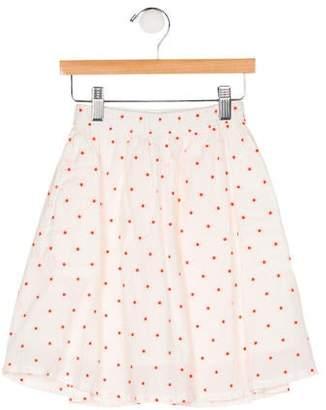 Bellerose Kids Girls' Polka Dot Skirt