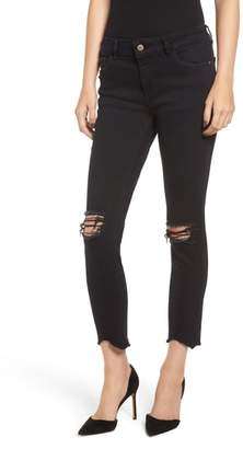 DL1961 Florence Instasculpt Ripped Crop Skinny Jeans