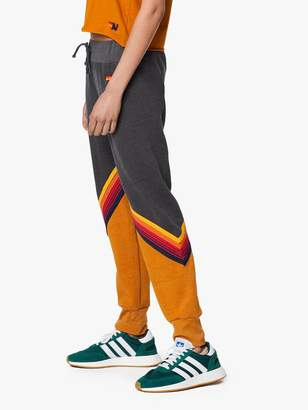 Aviator Nation Glider Stripe Sweatpant - Charcoal