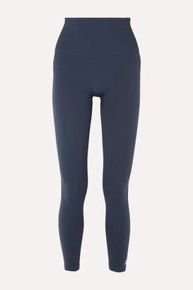 Reebok x Victoria Beckham Technical Stretch-knit Leggings - Navy