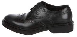 Salvatore Ferragamo Leather Lace-Up Oxfords