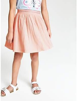 4cef8193e John Lewis & Partners Girls' Sparkle Skirt, ...
