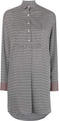Paul Smith micro print shirt dress