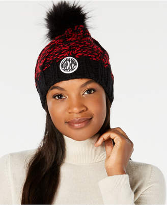 c6ebba8084b6e DKNY Quilted Puffer Faux-Fur Trapper Hat ·  43.50  58. Get a Sale Alert  View Details · Free Shipping  75+ at Macy s · DKNY Two-Tone Chunky Knit  Beanie