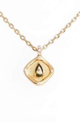 Lulu DK Teardrop Birthstone Pendant Necklace