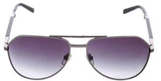 Dolce & Gabbana Folding Aviator Sunglasses