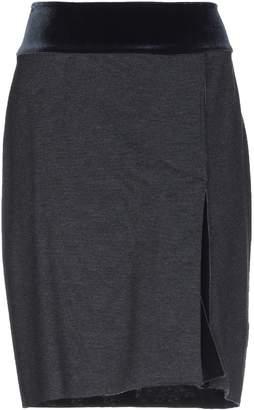 WOOD Knee length skirts - Item 35406922AV