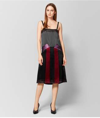 Bottega Veneta Multicolor Satin Dress
