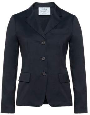Prada Stretch Cotton Poplin Jacket