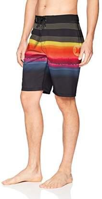 "Hurley Men's Striped 20"" inch Phantom Stretch Boardshort"