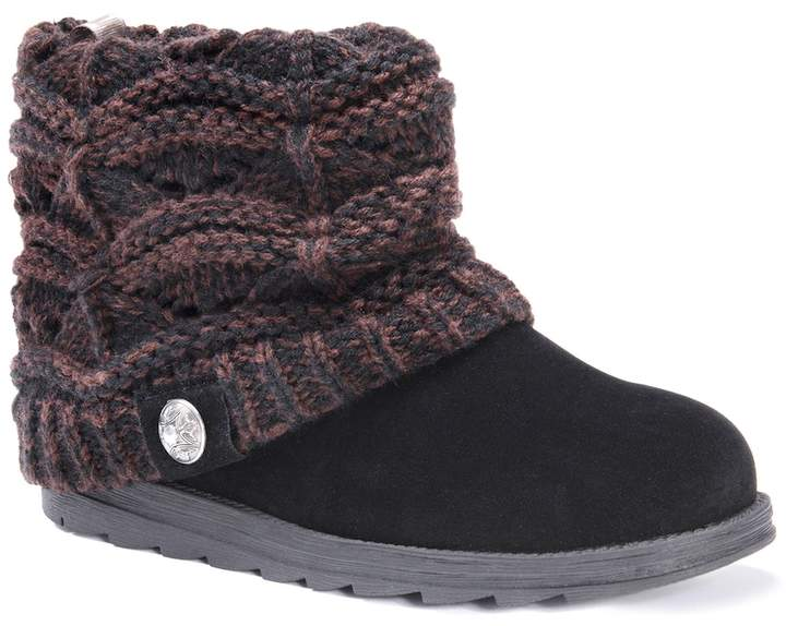 MUK LUKS Paola Women's Water-Resistant Ankle Boots