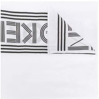 Kenzo logo scarf