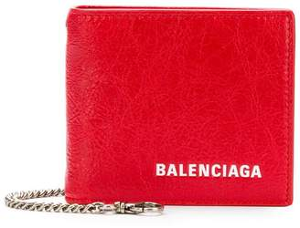 Balenciaga Explorer square wallet