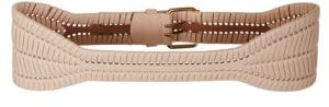 BCBGMAXAZRIA Whipstitched Faux Leather Belt