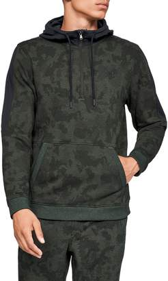 Under Armour Threadborne Siro Camo Half Zip Hoodie