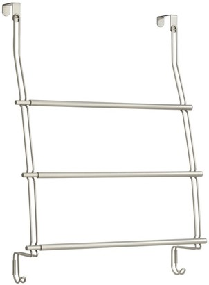 InterDesign Neo Expandable Over-The-Door Towel Rack