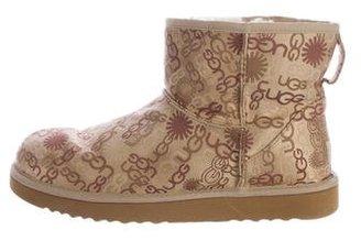 UGG Australia Jacquard Short Boots $95 thestylecure.com