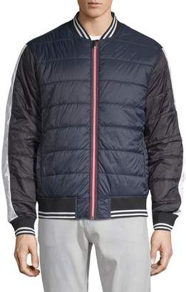 Saks Fifth Avenue Nhp Quilted Bomber Jacket