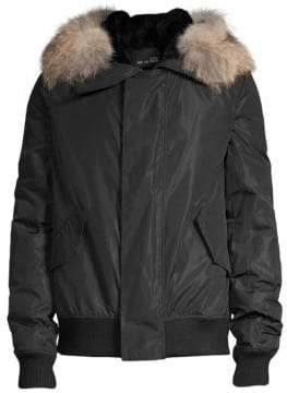 Yves Salomon Fur Nylon Jacket