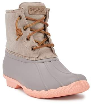 Sperry Saltwater Pop Outsole Waterproof Cold Weather Duck Boot
