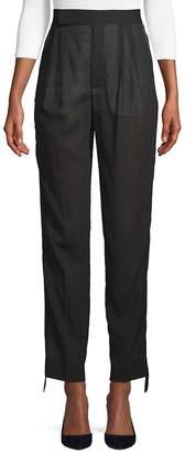 Celine Women's Tuxedo Band Cotton Pants