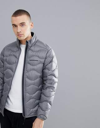 Peak Performance Helium Puffer Jacket Melange In Gray