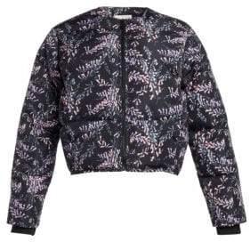 Maya Printed Floral Puffer Jacket