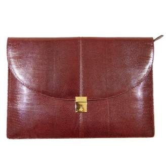 Gucci Brown Exotic leathers Clutch bags