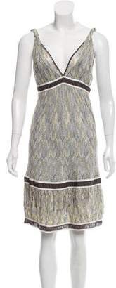 Missoni Knee-Length Crocheted Dress
