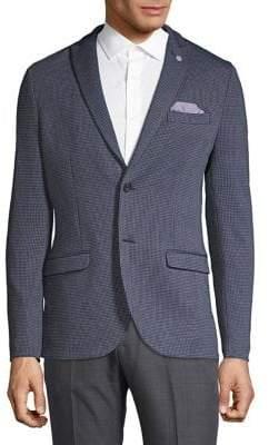 Selected Textured Peak Lapel Sportcoat