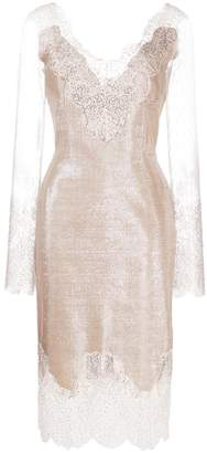 Ermanno Scervino lace detail dress